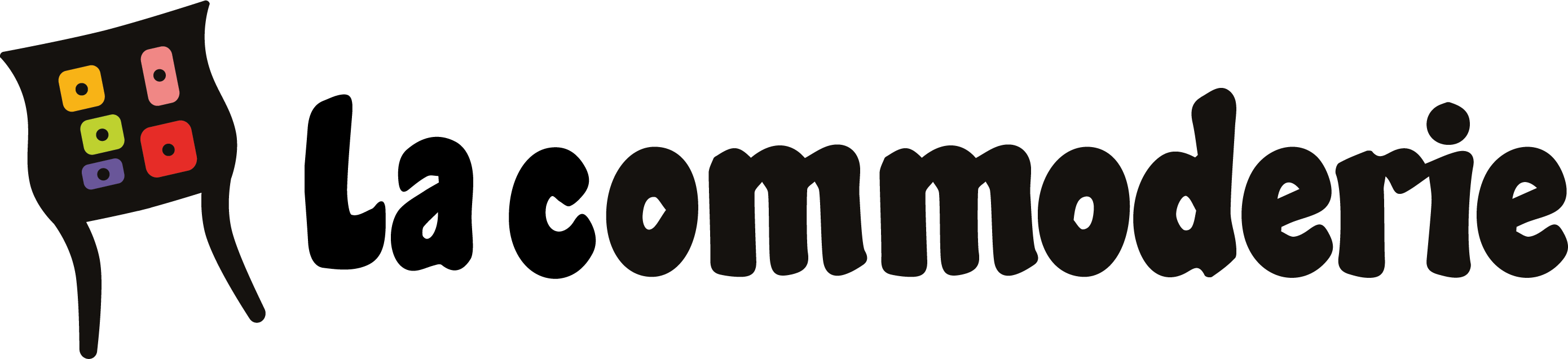 Logotype la commoderie long